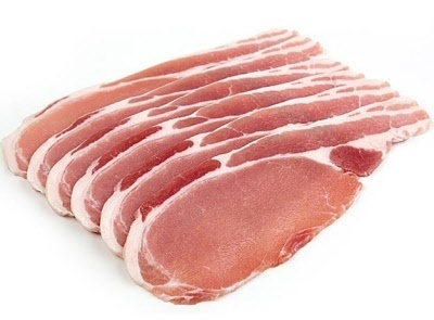Bacon 400g plain